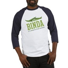 Binda - Its Whats For Dinner Baseball Jersey