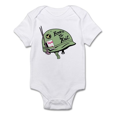 Born to Knit Infant Bodysuit