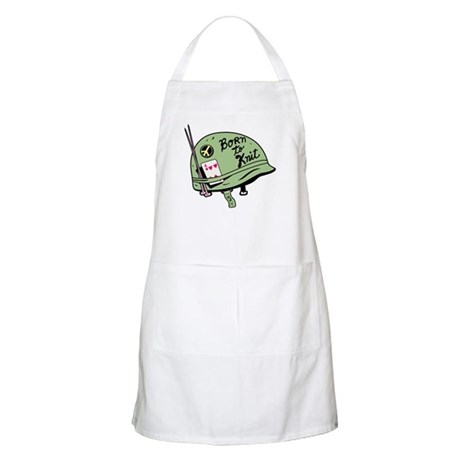 Born to Knit BBQ Apron