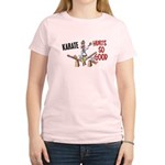 Karate Duck 3 Women's Light T-Shirt
