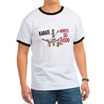 Karate Duck 3 Ringer T