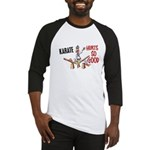 Karate Duck 3 Baseball Jersey