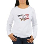 Karate Duck 3 Women's Long Sleeve T-Shirt