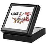 Karate Duck 3 Keepsake Box