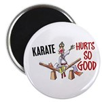 Karate Duck 3 Magnet