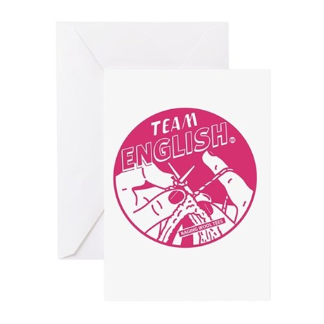 Team English Greeting Cards (Pk of 10)