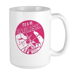 Team English Large Mug