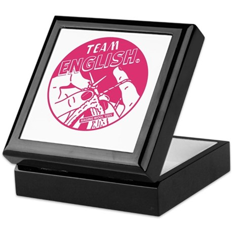 Team English Keepsake Box