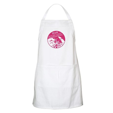 Team English BBQ Apron