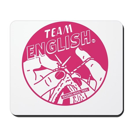Team English Mousepad