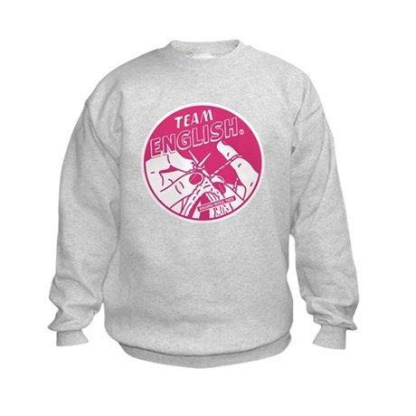 Team English Kids Sweatshirt
