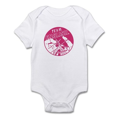 Team English Infant Bodysuit