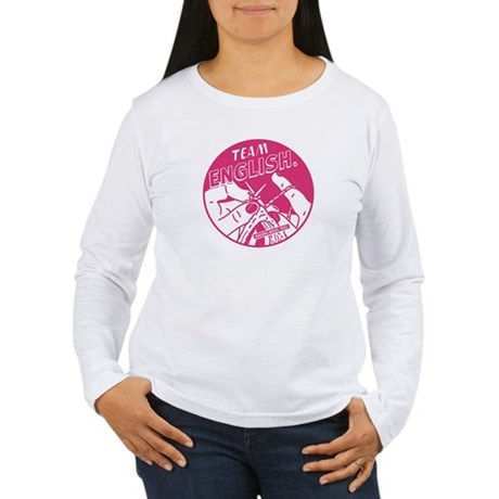 Team English Women's Long Sleeve T-Shirt