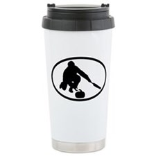 Curling Ceramic Travel Mug