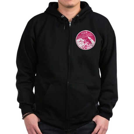 Team English Zip Hoodie (dark)