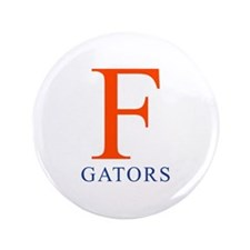 "F | Gators - 3.5"" Button"