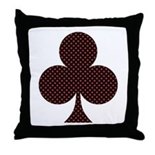 Club Suit - Throw Pillow