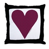 Heart Suit - Throw Pillow