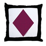Diamond Suit - Throw Pillow
