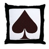 Spade Suit - Throw Pillow