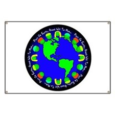 Peas On Earth Banner