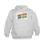 Knit Fast, Dye Yarn Kids Hoodie