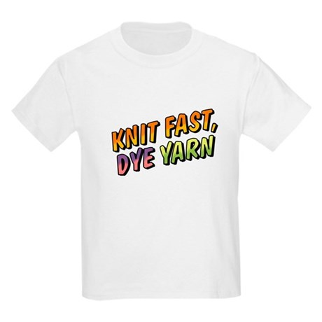 Knit Fast, Dye Yarn Kids Light T-Shirt