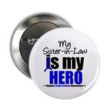 "Colon Cancer Hero 2.25"" Button (10 pack)"