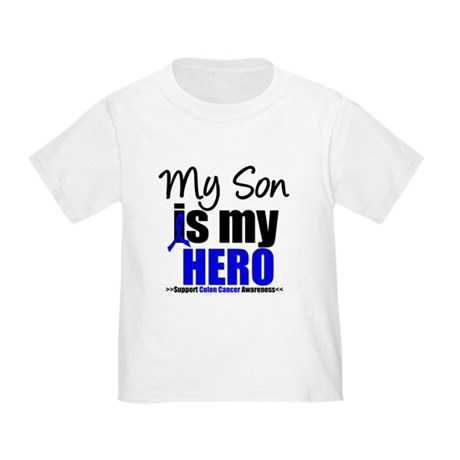 Colon Cancer Hero Toddler T-Shirt