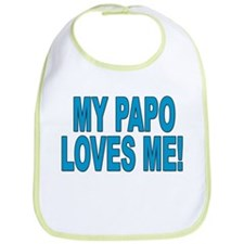 MY PAPO LOVES ME Snap Bib