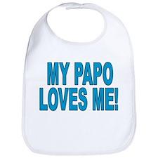MY PAPO LOVES ME Snap Bib