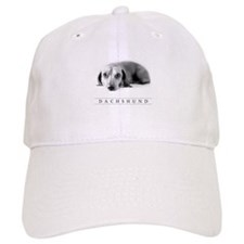 Classic Dachshund Baseball Cap (Hat) - Beautiful Doxie Art!