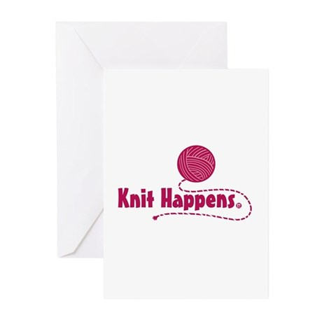Knit Happens Greeting Cards (Pk of 10)