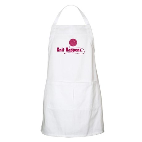 Knit Happens BBQ Apron