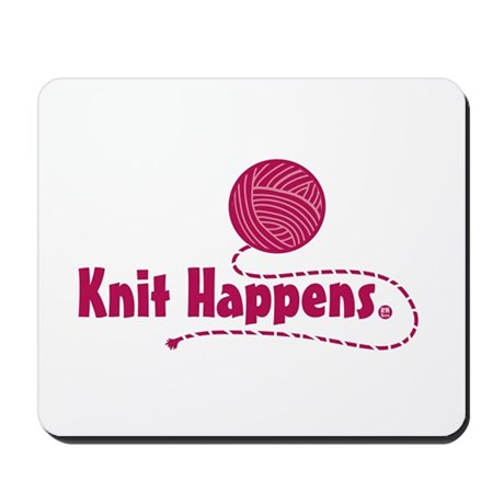 Knit Happens Mousepad