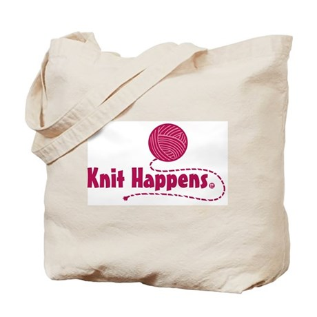 Knit Happens Tote Bag