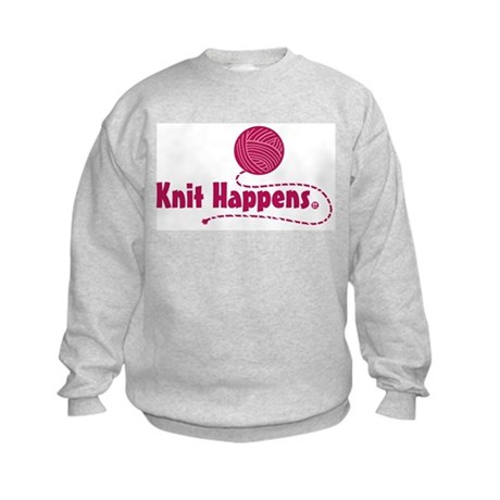 Knit Happens Kids Sweatshirt