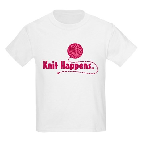 Knit Happens Kids Light T-Shirt