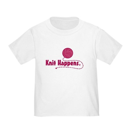 Knit Happens Toddler T-Shirt