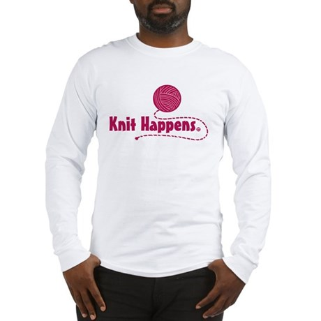 Knit Happens Long Sleeve T-Shirt