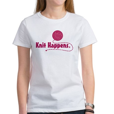Knit Happens Women's T-Shirt
