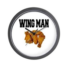 Wing Man Wall Clock