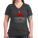 Love of Pooping Funny Gift Shirt