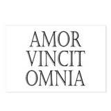 Amor vincit omnia Postcards (Package of 8)