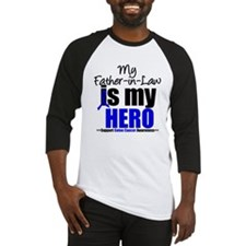 Colon Cancer Hero Baseball Jersey