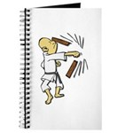Funny Man Breaking Board 1 Journal
