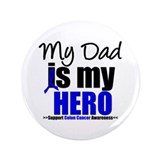 "Colon Cancer Hero 3.5"" Button"