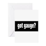 Got Gauge? Greeting Cards (Pk of 20)