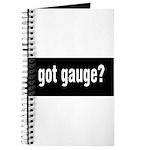 Got Gauge? Journal