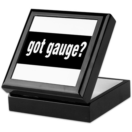 Got Gauge? Keepsake Box